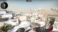 csgo slash 新Dust 2 投掷物教学(一)烟雾弹