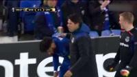 埃弗顿里昂球员赛场斗殴!秒怂裁判竟然只给黄牌!