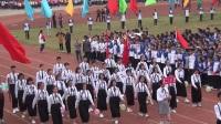 吉安县立中学第35届田径运动会开幕式(刘老师拍摄制作)