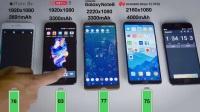华为 Mate 10 Pro VS 三星Note 8 VS iPhone 8 Plus VS 一加5 电池续航测试,结果很意外!!!!