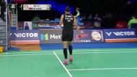 10月21日丹麦羽毛球公开赛女单半决赛戴资颖VS因达农(BWF)