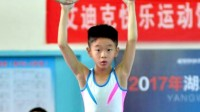 八卦:子承父业!杨阳洋参加体操比赛