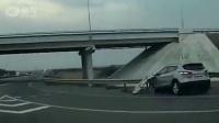 [导入]高速上SUV时速125,货车三秒后被彻底撞废