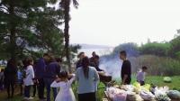 卧龙湖户外烧烤活动