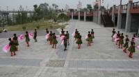 """铅山县老年体舞台舞操协会舞蹈队彩排舞蹈""""我的祖国"""""""