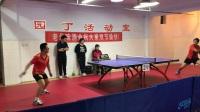 乒乓球比赛小视频