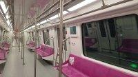 南京地铁S3号线试乘.平良大街进站.S3-003004