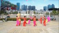 牡丹舞蹈队《第五套健身秧歌》队形-制作-瑞昌李姐