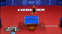 2017乒乓球世界杯 日本一哥水谷隼暴力扔飞乒乓球拍 输球又输人