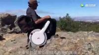 高科技全地形代步车 残疾人用它过草地上山林如履平地