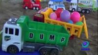 挖掘机工程视频表演大全儿童大吊车 托马斯 搅拌机 推土机 压路机 吊车