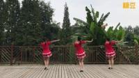 成都莉莎广场舞 走天涯 背面