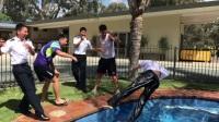 中国飞行学员澳洲STAA航校第一次单飞first solo单飞纪念视频