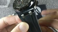 爱彼手表表带拆装教程