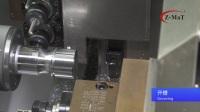 """震环机床 Z-MaT - 平床身线轨机 车铣复合加工案例- """"3侧升降+2正""""动力头"""