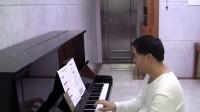 01. C 五指音阶的预备练习 - 菲伯尔钢琴基础教程第2级, 课程和乐理