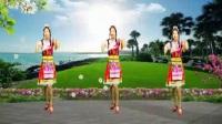 安化艾艾广场舞《吉祥》藏族舞编舞:韦福强
