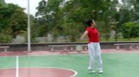 柔力球《第九套规定套路 》全套动作背面示范---彭永凤老师