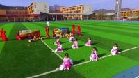"""青岛为明学校中学部""""走进敦煌""""主题运动会年级展示《边城要塞》--七年级"""
