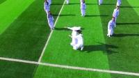 """青岛为明学校中学部""""走进敦煌""""主题运动会年级展示《歌颂敦煌》--八、九年级"""