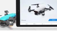 DJI Spark 入门教学 - DJI GO 4 App主界面介绍