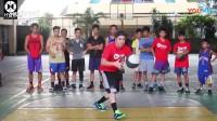 国外青少年花式篮球展示
