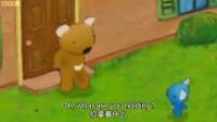 英语配音《小佩爱天气之忙趁东风放风筝》