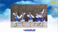 兰州莲花原创广场舞《一朵云在蓝天飘过》