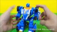 韩国进口MONKART LEO合体机器人变形金刚魔幻弹跳变形车神玩具