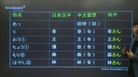 日语学习教学教程视频唐盾新标准日本语初级上册第一课