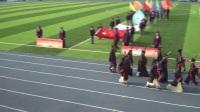 青岛为明学校小学部传统文化进校园,古代运动展新颜主题运动会开幕式