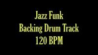 jazz funk disco drum track 120 bpm 4 on the floor backing track