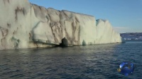 冰岛冰湖壮观美景