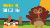 16 Minutes Thanksgiving Songs Turkey Songs for Kids 感恩节