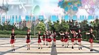 荆门市政广场舞团体版《溜溜的姑娘像朵花 串烧情哥去南方》爱拍摄制