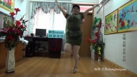 zhanghongaaa广场舞 自编38步毛主席的光辉 原创