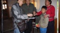 鹏博助学2014年黑龙江齐齐哈尔贫困学生家庭走访!