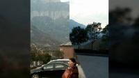 河南省太行山八里沟郭亮挂壁公路旅游
