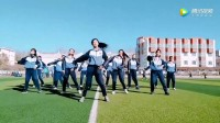 这是女子学校的广播体操? 很厉害的样子