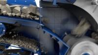 克磊镘移动反击式破碎设备:理想的材料流动