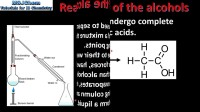 10.2 Oxidation reactions of the alcohols(SL)