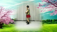 莲芳姐广场舞《我的玫瑰卓玛拉》水兵舞、编舞:莲芳姐
