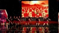 河源市首届广场舞大赛!芳馨队!五星红旗飘起来2017