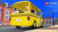 少儿英文儿歌英文磨耳朵儿歌 Wheels On The Bus