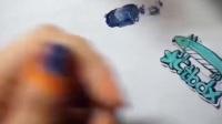 日本美甲美甲教程玩具美甲美甲创始人美甲老师猫眼美甲日式美甲雅致格调美甲美甲初级教