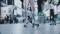 智云CRANE 国外小姐姐的轮滑创意视频