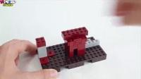 MC动画-乐高版MC之下界堡垒-Brick Builder