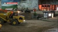杰克亲子玩具视频:挖掘机  土方车  吊车  卡车  消防车工作表演视频