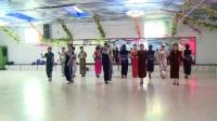 柳河县世纪广场舞动人生舞蹈队旗袍表演