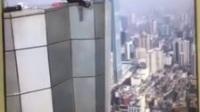 """""""中国高空挑战第一人""""坠楼画面:挣扎了20秒"""
